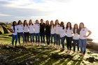 Woodbridge Warriors Girls Varsity Soccer Winter 17-18 team photo.