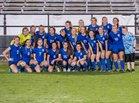 Mandeville Skippers Girls Varsity Soccer Winter 17-18 team photo.