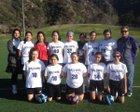 Holy Family Gaels Girls Varsity Soccer Winter 17-18 team photo.