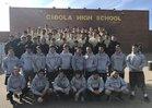 Cibola Cougars Boys Varsity Track & Field Spring 17-18 team photo.