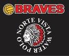 Norte Vista Braves Girls Varsity Water Polo Winter 17-18 team photo.