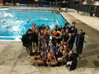 Chaffey Tigers Girls Varsity Water Polo Winter 17-18 team photo.