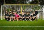 Bluffton Bobcats Boys JV Soccer Spring 17-18 team photo.