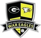 Gray Collegiate Academy War Eagles Boys JV Soccer Spring 17-18 team photo.