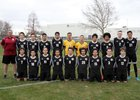 Mountain View Bruins Boys JV Soccer Spring 17-18 team photo.