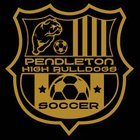 Pendleton Bulldogs Boys JV Soccer Spring 17-18 team photo.