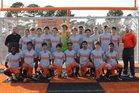Batesville Pioneers Boys JV Soccer Spring 17-18 team photo.