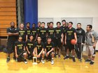Olympian Eagles Boys JV Basketball Winter 16-17 team photo.