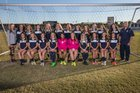 Gulf Breeze Dolphins Girls Varsity Soccer Winter 15-16 team photo.