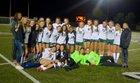 Sage Hill Lightning Girls Varsity Soccer Winter 15-16 team photo.
