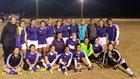 Lemoore Tigers Girls Varsity Soccer Winter 15-16 team photo.