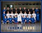 Tahoma Bears Boys Varsity Soccer Spring 17-18 team photo.