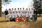 Lakeside Eagles Boys Varsity Soccer Spring 17-18 team photo.