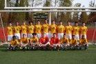 Kentridge Chargers Boys Varsity Soccer Spring 17-18 team photo.