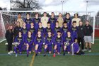Puyallup Vikings Boys Varsity Soccer Spring 17-18 team photo.