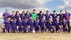 Rogers Pirates Boys Varsity Soccer Spring 17-18 team photo.