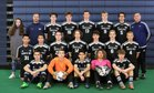 King's Way Christian Knights Boys Varsity Soccer Spring 17-18 team photo.