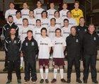 Mercer Island Islanders Boys Varsity Soccer Spring 17-18 team photo.