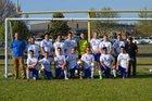 Mountain View Yellowjackets Boys Varsity Soccer Spring 17-18 team photo.