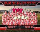 Park City Miners Boys Varsity Soccer Spring 17-18 team photo.
