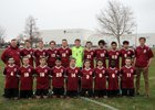 Mountain View Bruins Boys Varsity Soccer Spring 17-18 team photo.