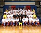 Riverside Warriors Boys Varsity Soccer Spring 17-18 team photo.
