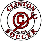 Clinton Red Devils Boys Varsity Soccer Spring 17-18 team photo.