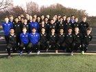 North Little Rock Charging Wildcats Boys Varsity Soccer Spring 17-18 team photo.