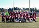 Kingston Buccaneers Boys Varsity Soccer Spring 17-18 team photo.