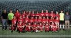 Vilonia Eagles Boys Varsity Soccer Spring 17-18 team photo.