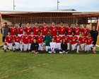Renton Indians Boys Varsity Soccer Spring 17-18 team photo.