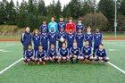 Meadowdale Mavericks Boys Varsity Soccer Spring 17-18 team photo.