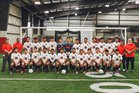 Northside Grizzlies Boys Varsity Soccer Spring 17-18 team photo.