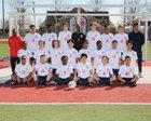 Marion Patriots Boys Varsity Soccer Spring 17-18 team photo.