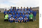 Kiona-Benton Bears Boys Varsity Soccer Spring 17-18 team photo.