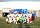 Arkadelphia Badgers Boys Varsity Soccer Spring 17-18 team photo.