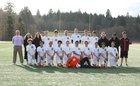 Lakewood Cougars Boys Varsity Soccer Spring 17-18 team photo.