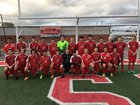 Heber Springs Panthers Boys Varsity Soccer Spring 17-18 team photo.