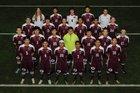 Gentry Pioneers Boys Varsity Soccer Spring 17-18 team photo.