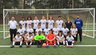 North Augusta Yellowjackets Boys Varsity Soccer Spring 17-18 team photo.