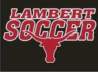 Lambert Longhorns Boys Varsity Soccer Spring 17-18 team photo.