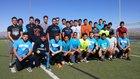 Santa Teresa Desert Warriors Boys Varsity Track & Field Spring 15-16 team photo.