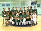 Eagle Rock Eagles Boys JV Volleyball Spring 15-16 team photo.