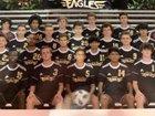 Enloe Eagles Boys Varsity Soccer Fall 18-19 team photo.