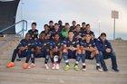 Highland Hornets Boys Varsity Soccer Fall 18-19 team photo.