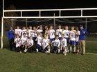 Camden Blue Devils Boys Varsity Soccer Fall 18-19 team photo.