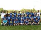 Mitchell Bluejackets Boys Varsity Soccer Fall 18-19 team photo.