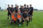 Sterling Tigers Boys Varsity Soccer Fall 18-19 team photo.