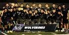 Skyview Wolverines Boys Varsity Soccer Fall 18-19 team photo.