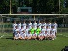 Myers Park Mustangs Boys Varsity Soccer Fall 18-19 team photo.